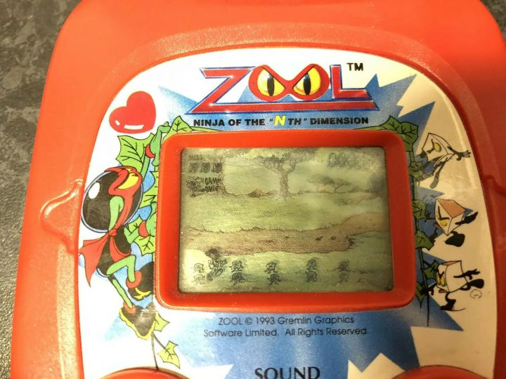 Zool LCD Electronic Game (SystemA)