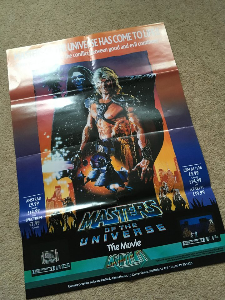 The Masters of the Universe Shop Poster