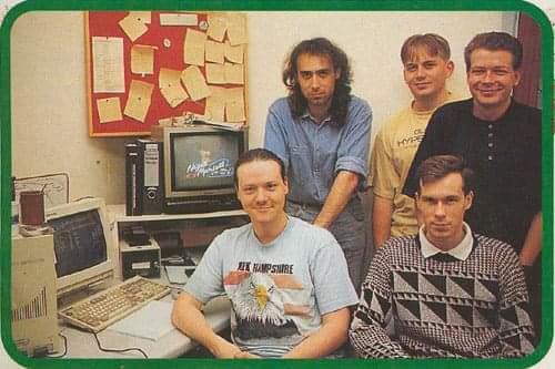 Nigel Mansell Development Team Circa 1992
