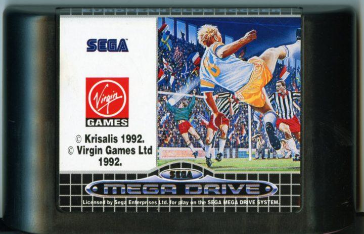 European Club Soccer (Sega Megadrive)