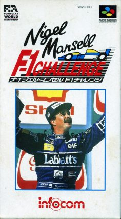 Nigel Mansell's F1 Challenge (SNES, Infocom)