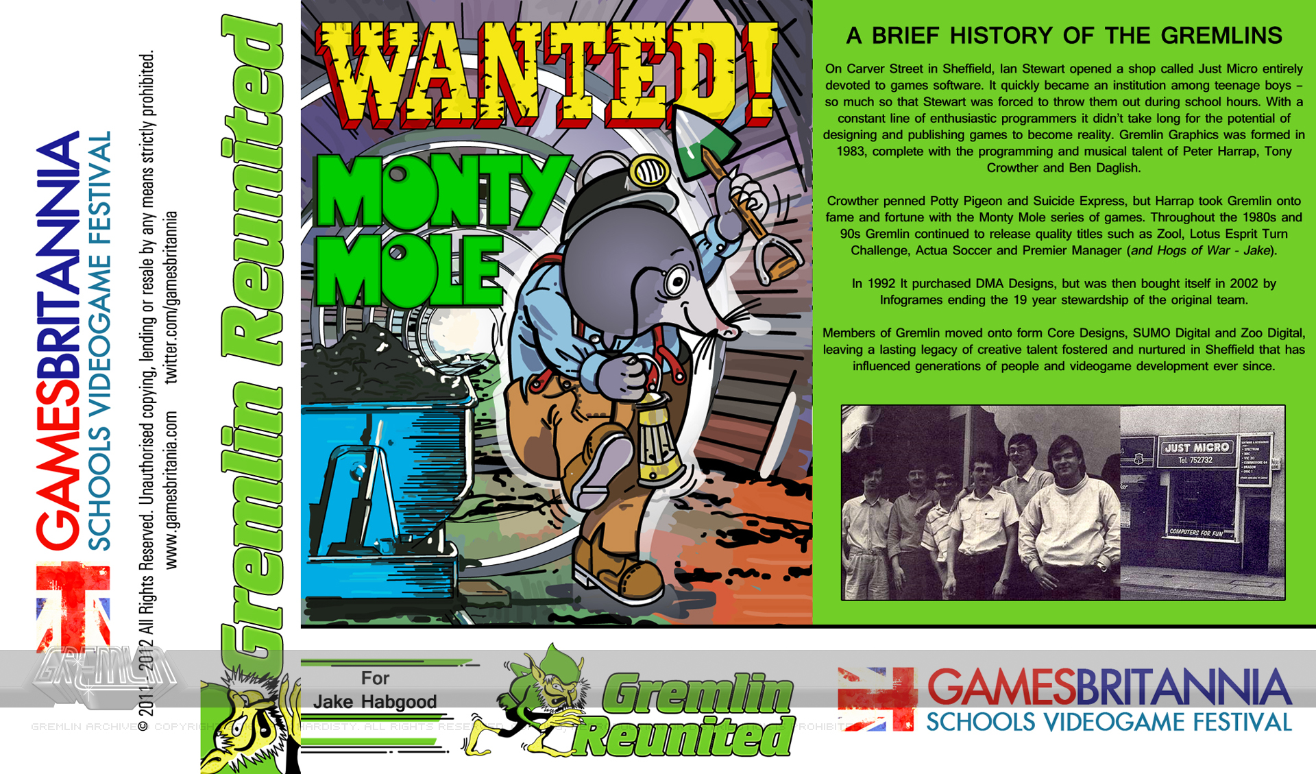Games Britannia Gremlin Reunited Invitation