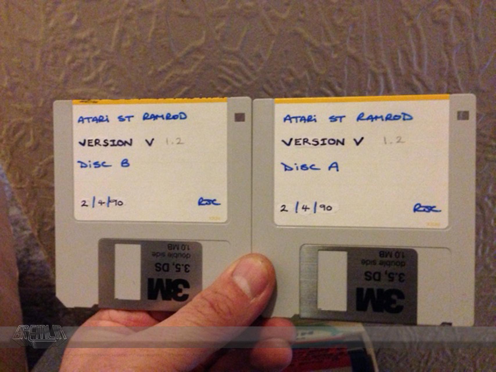 Richard Costello Development Disks