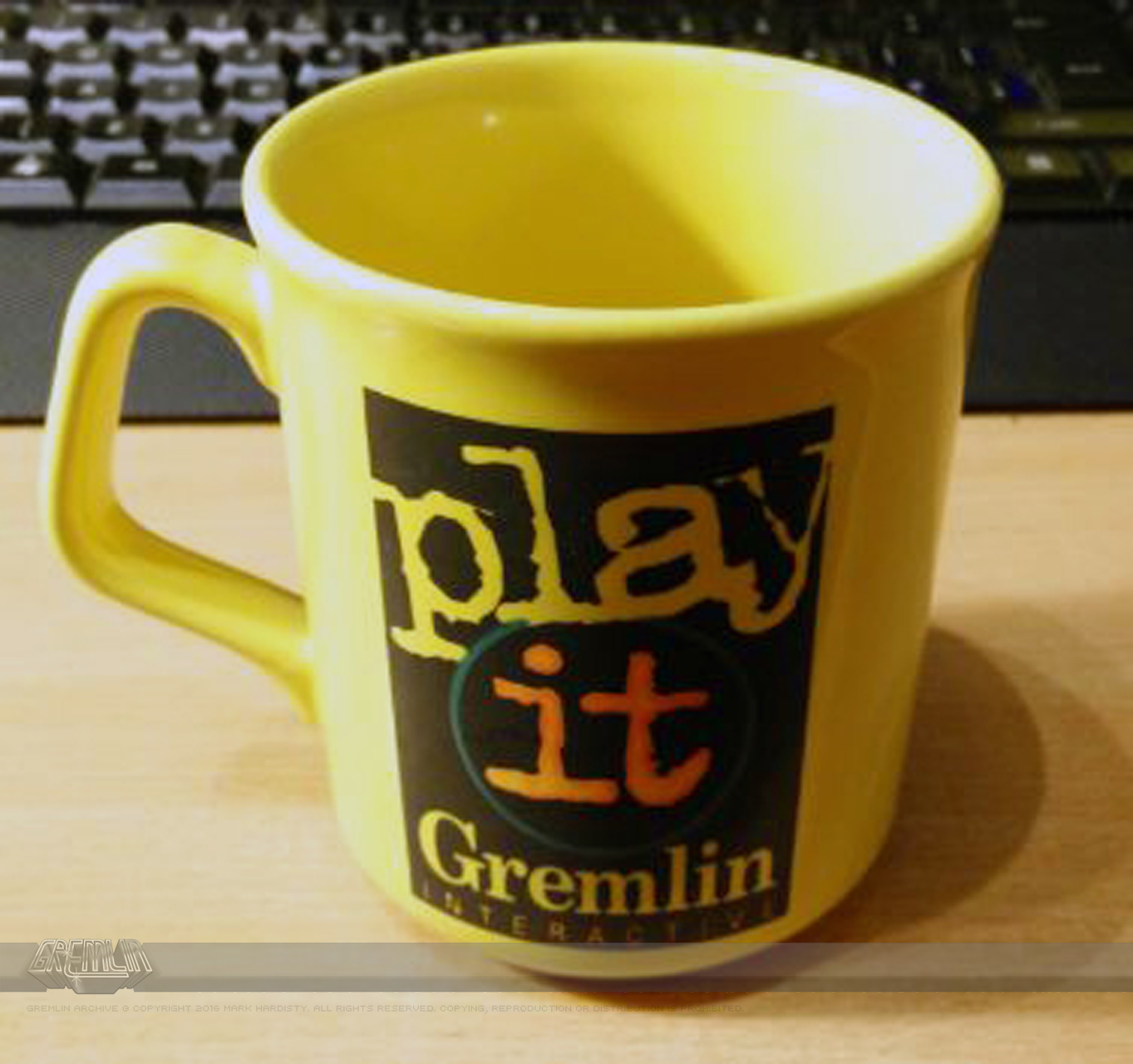 Play It – Gremlin Interactive Mug