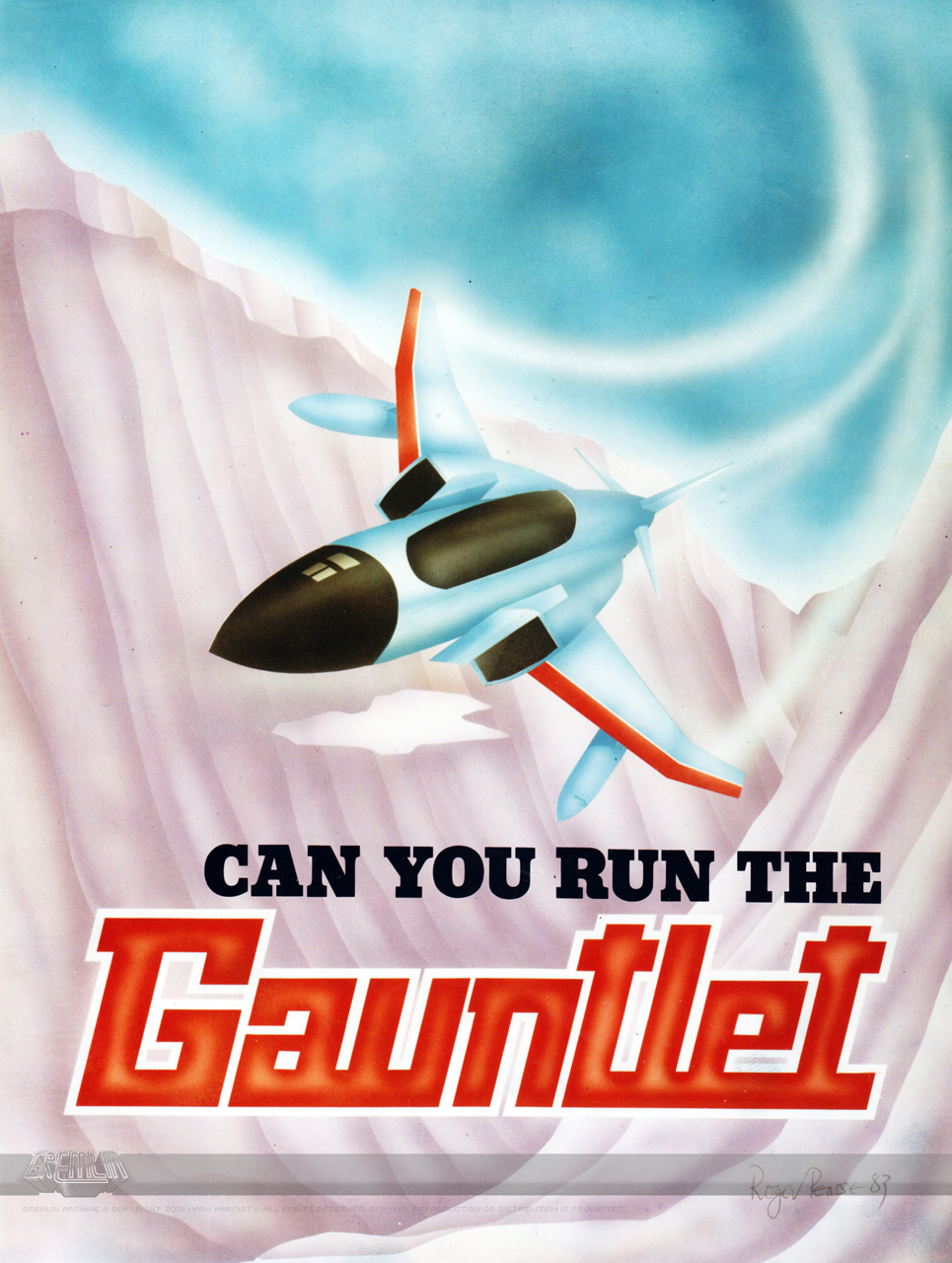 Gauntlet – Unreleased Oric Game