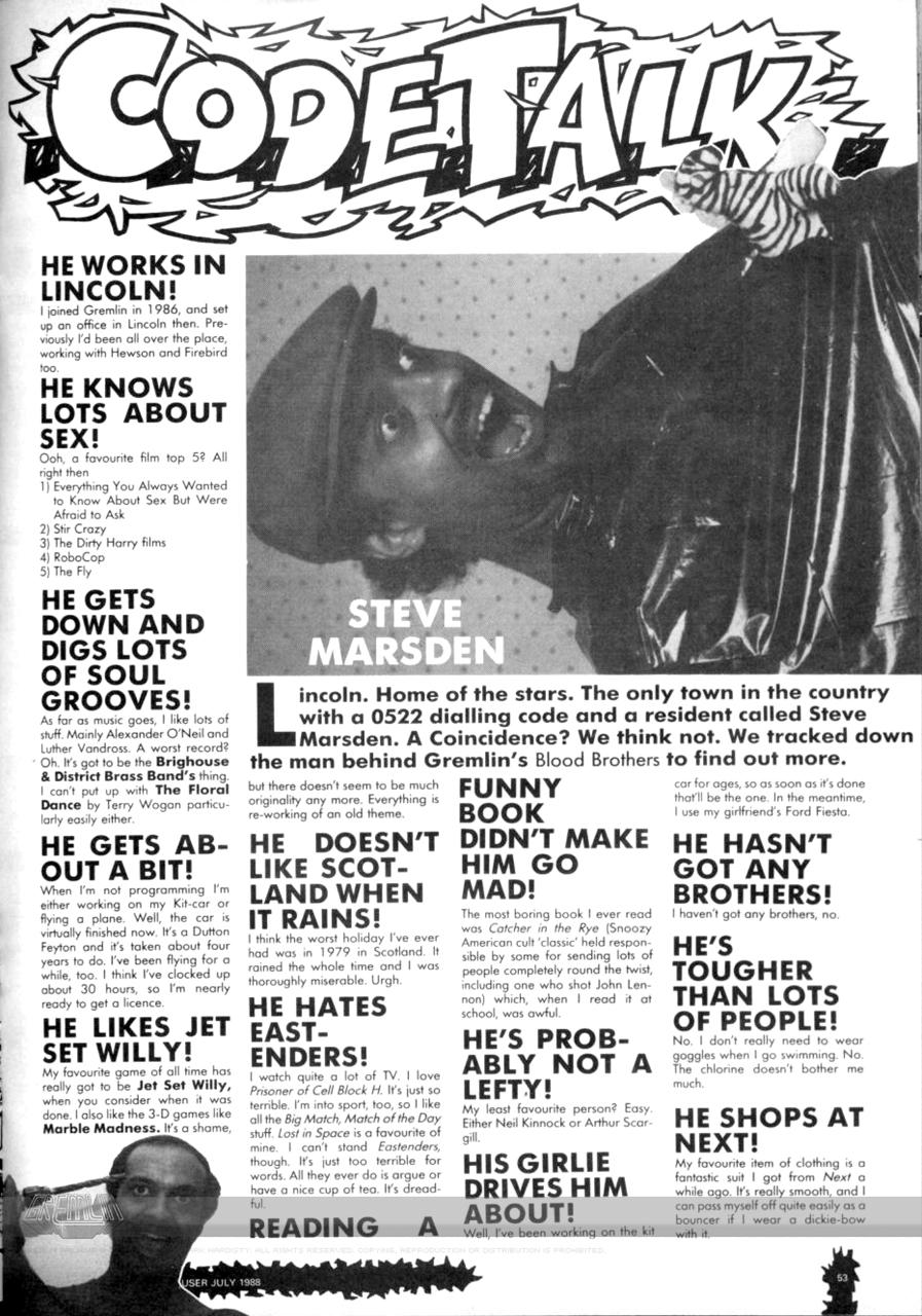Steve Marsden – Gremlin Lincoln