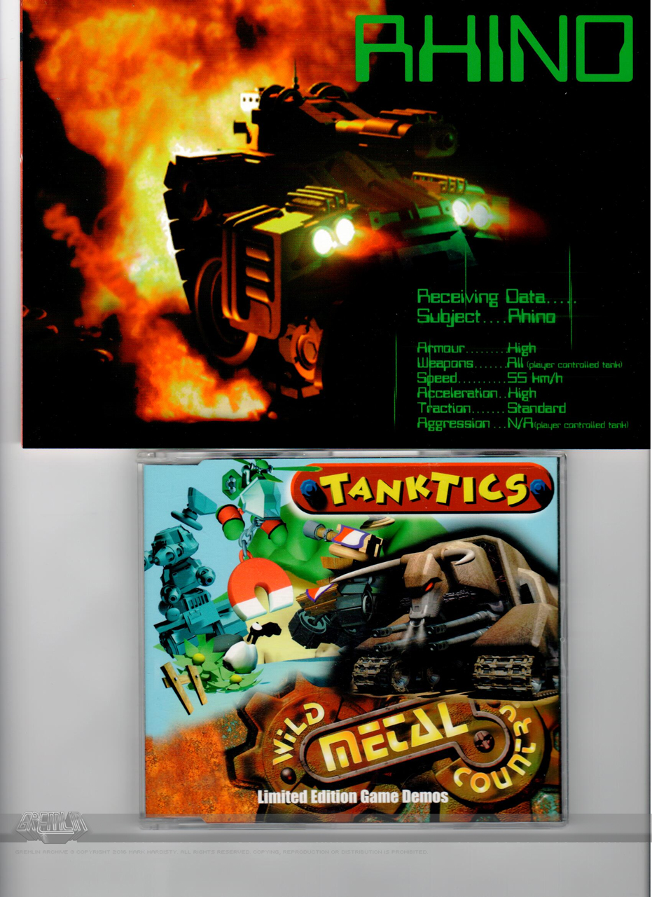 Tanktics and Wild Metal County Demo Disk