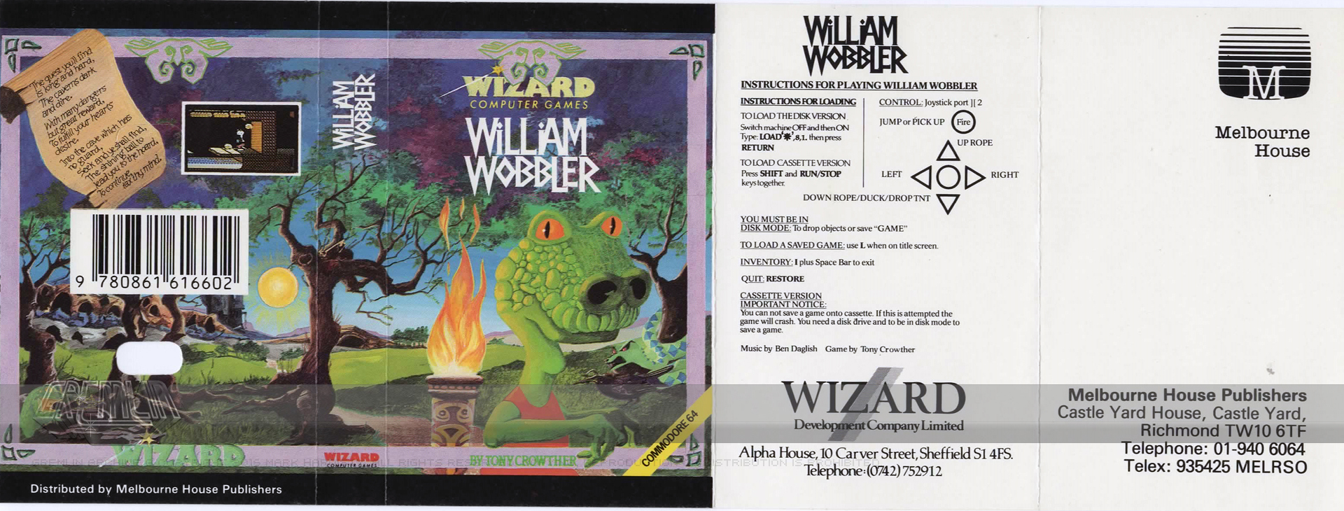 William Wobbler (Wizard Developments)
