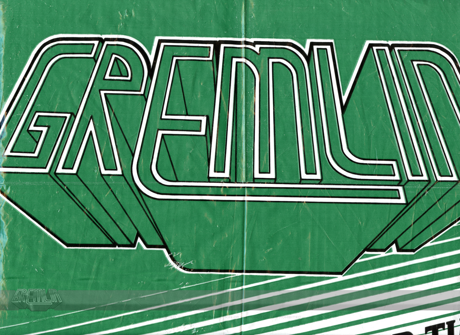 Gremlin logo carrier bag