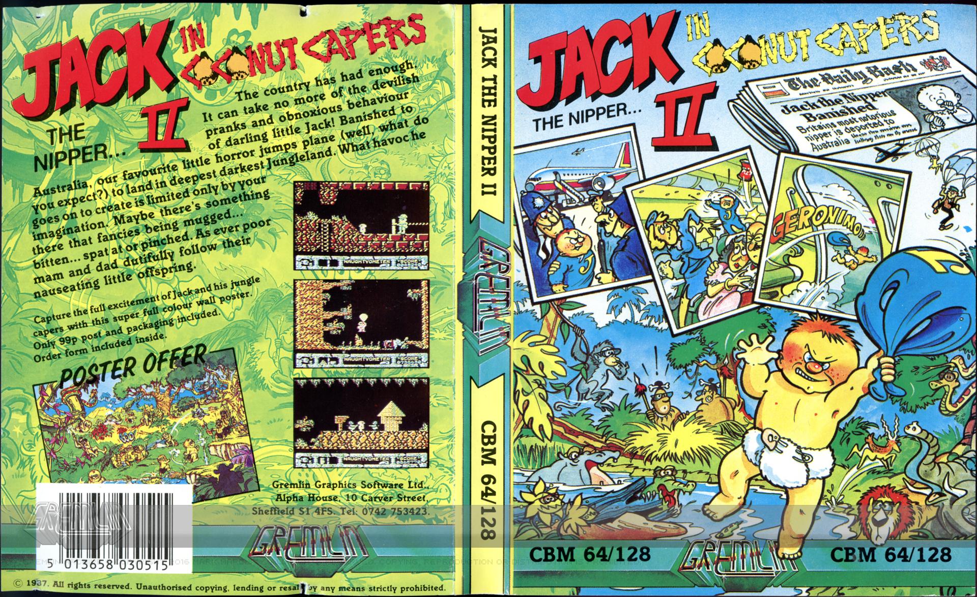 Jack The Nipper II: In Coconut Capers