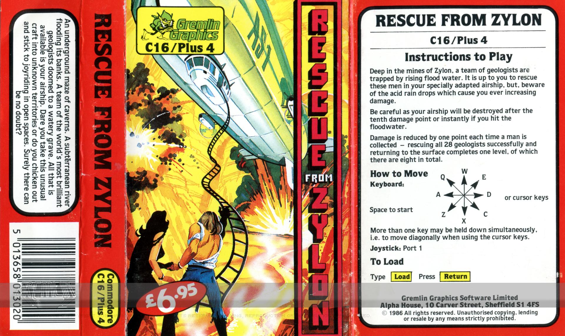Rescue from Zylon