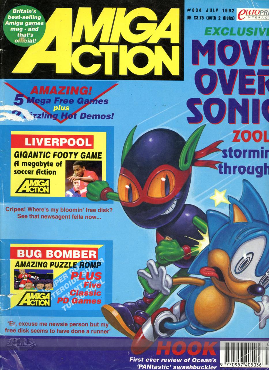 Amiga Action Issue 34
