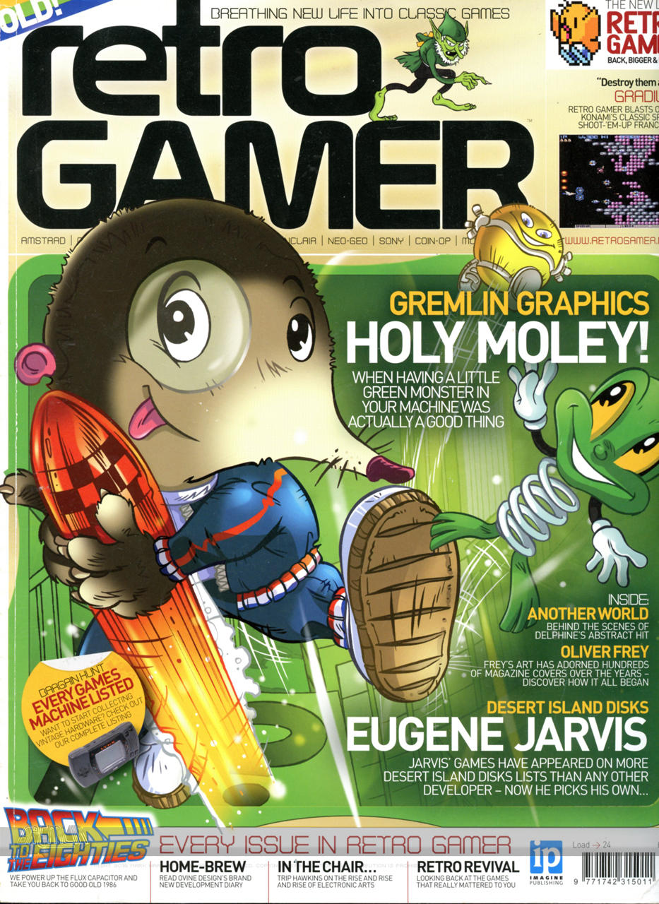 Retro Gamer Magazine Feature