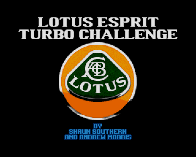 Lotus Esprit Turbo Challenge source code