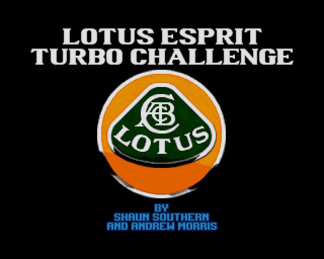 Lotus Esprit Turbo Challenge source code