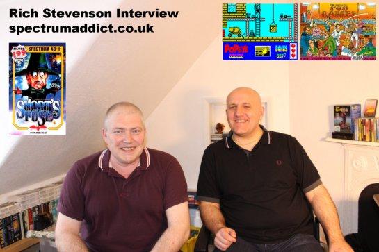 Rich Stevenson Interview for Spectrum Addict Movie