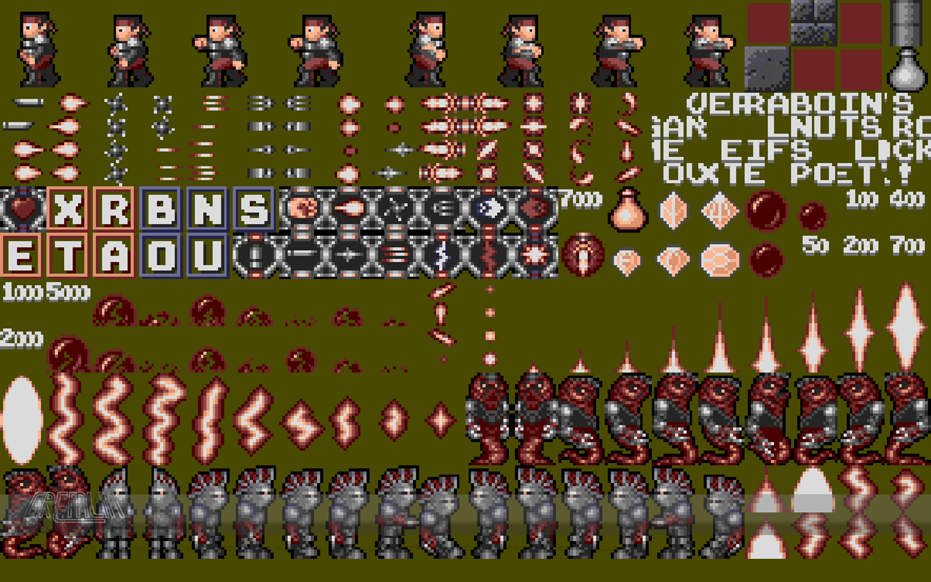 Switchblade Sprites
