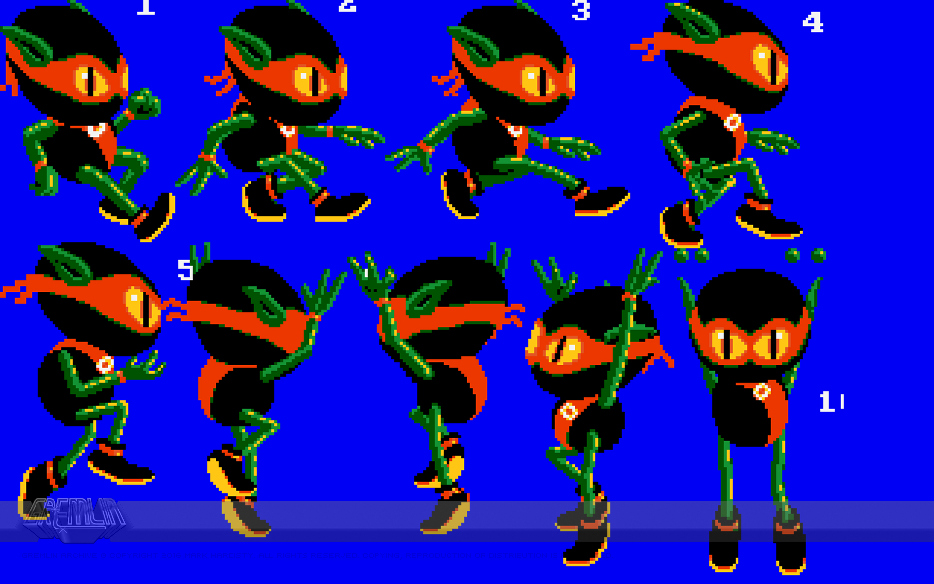 Zool Animation Sprites
