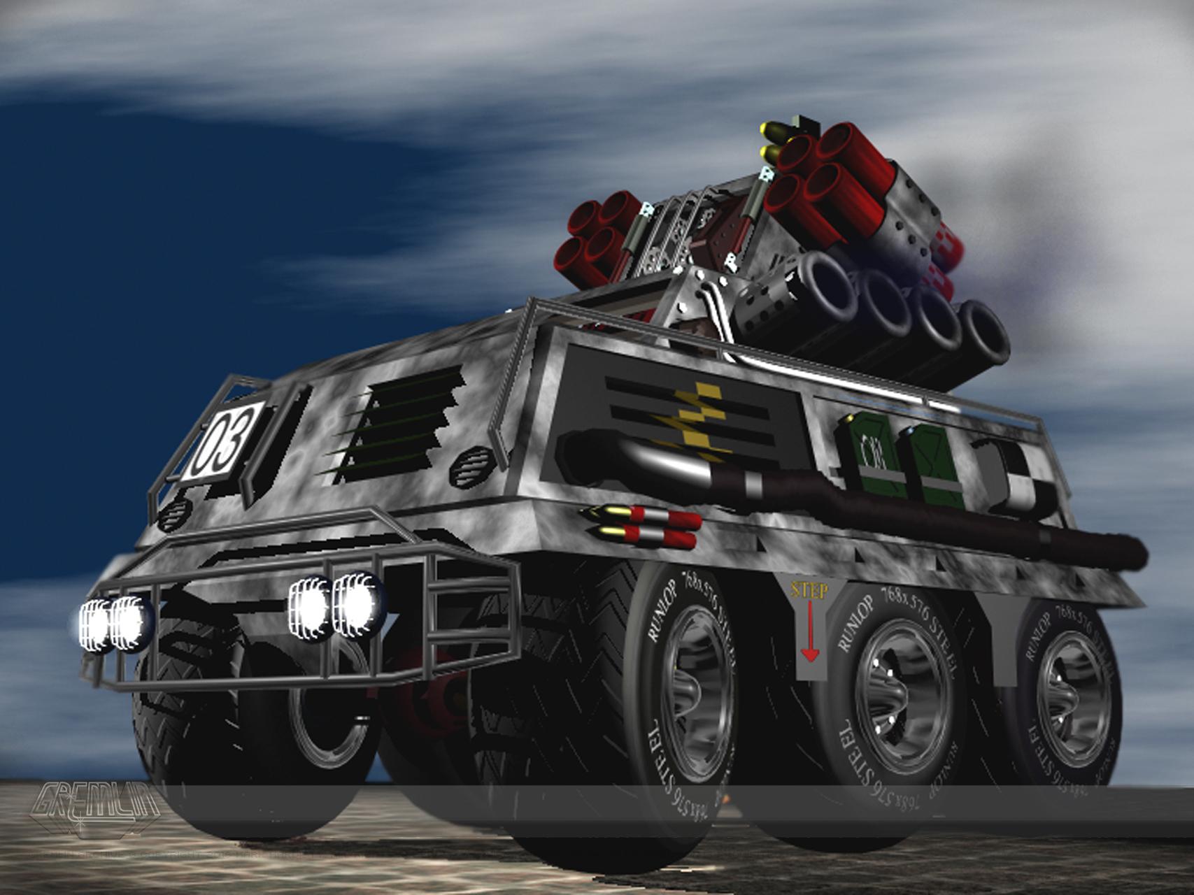 Tanktics Concept Renders