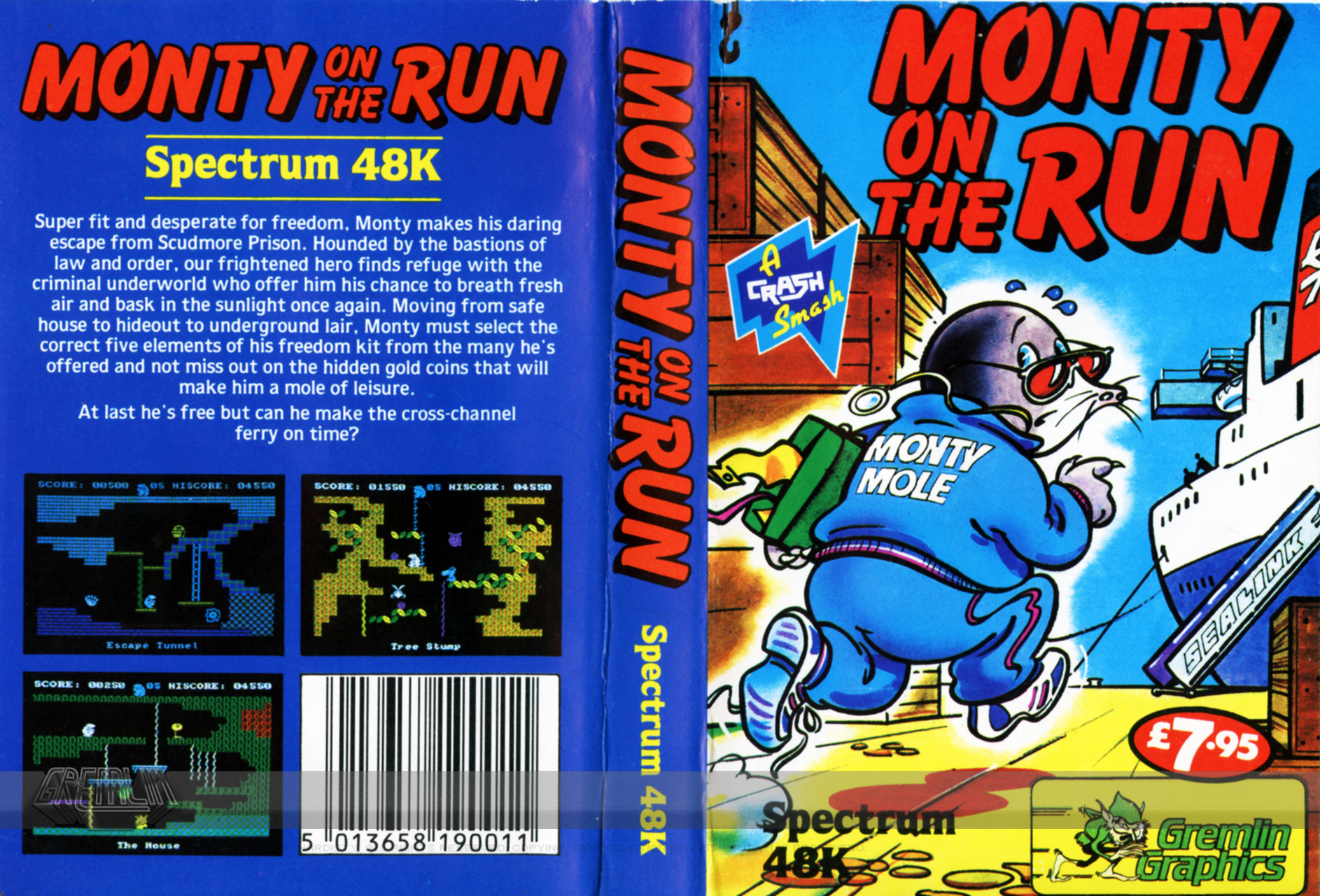 Monty on the Run (ZX Spectrum)