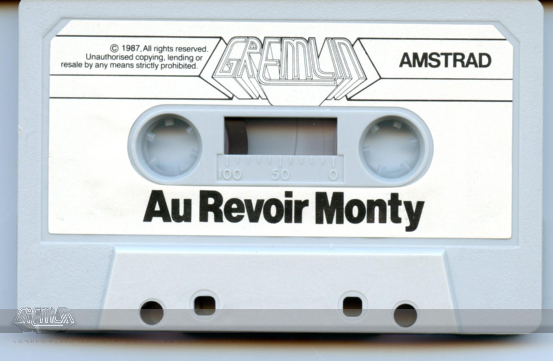 Au Revior Monty Cassette