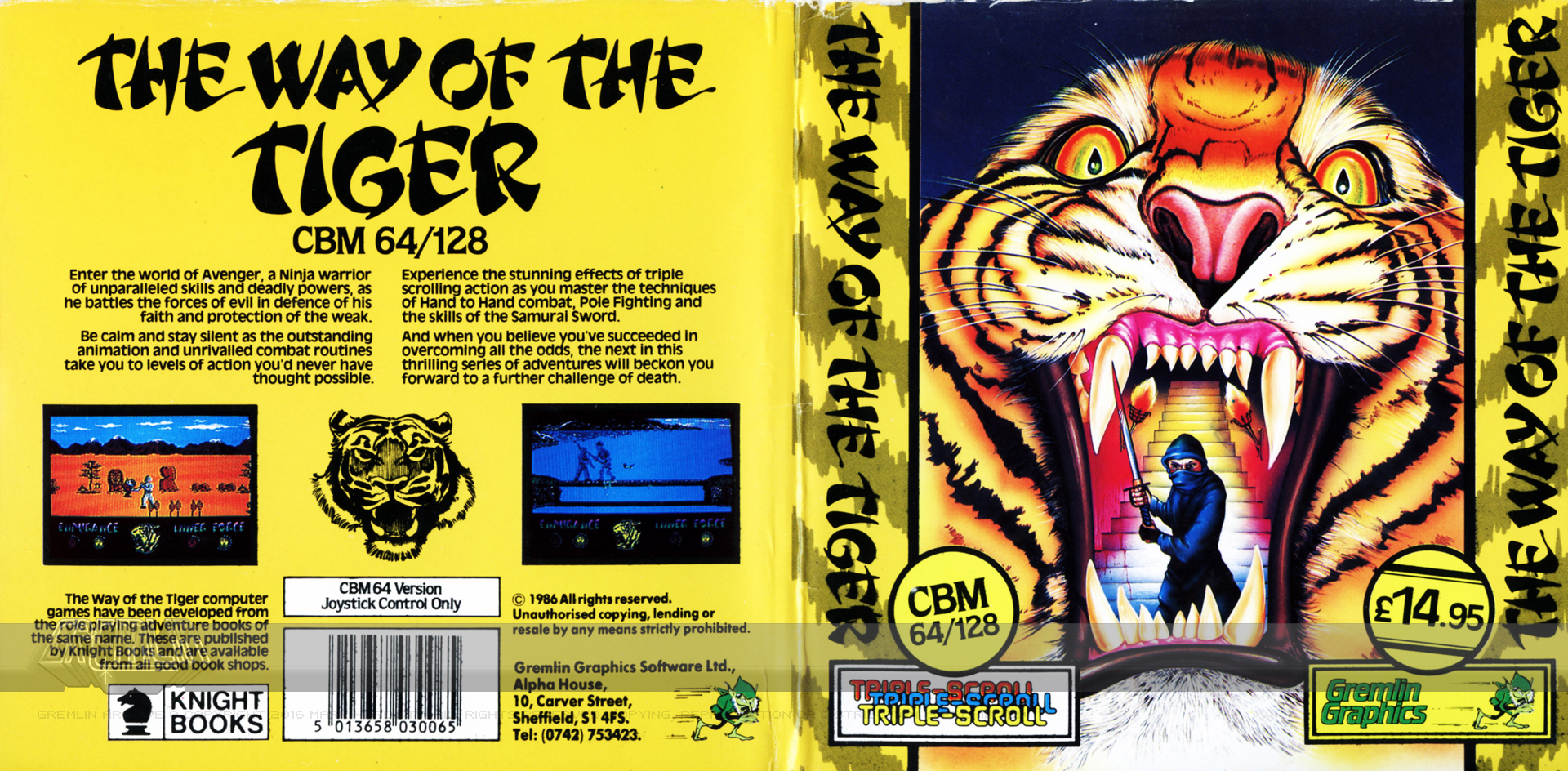Way of the Tiger (Disk)