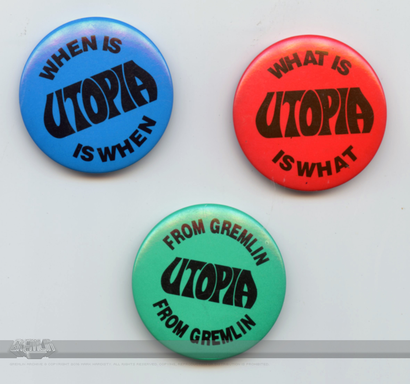Utopia Badges