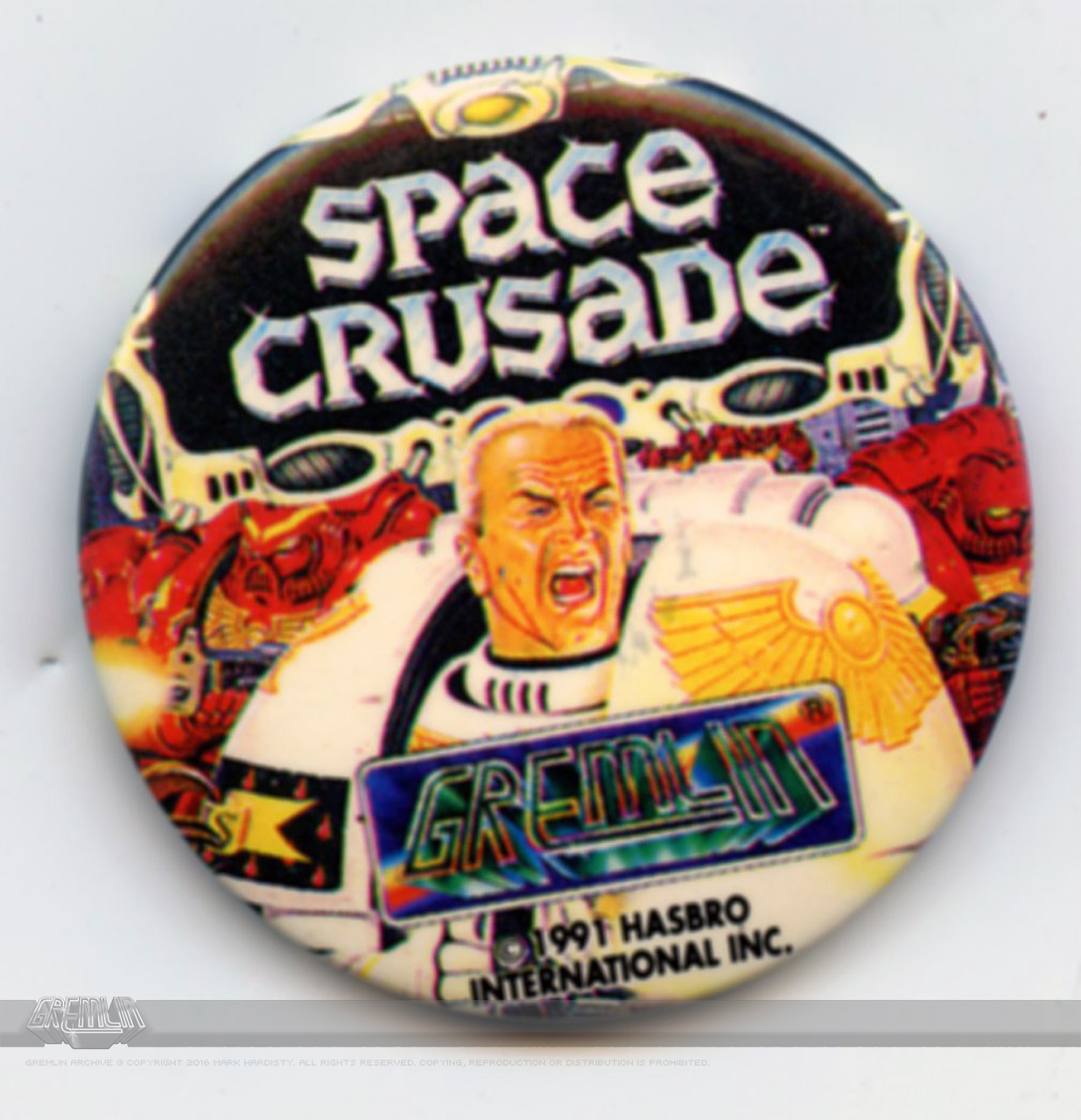 Space Crusade Badge