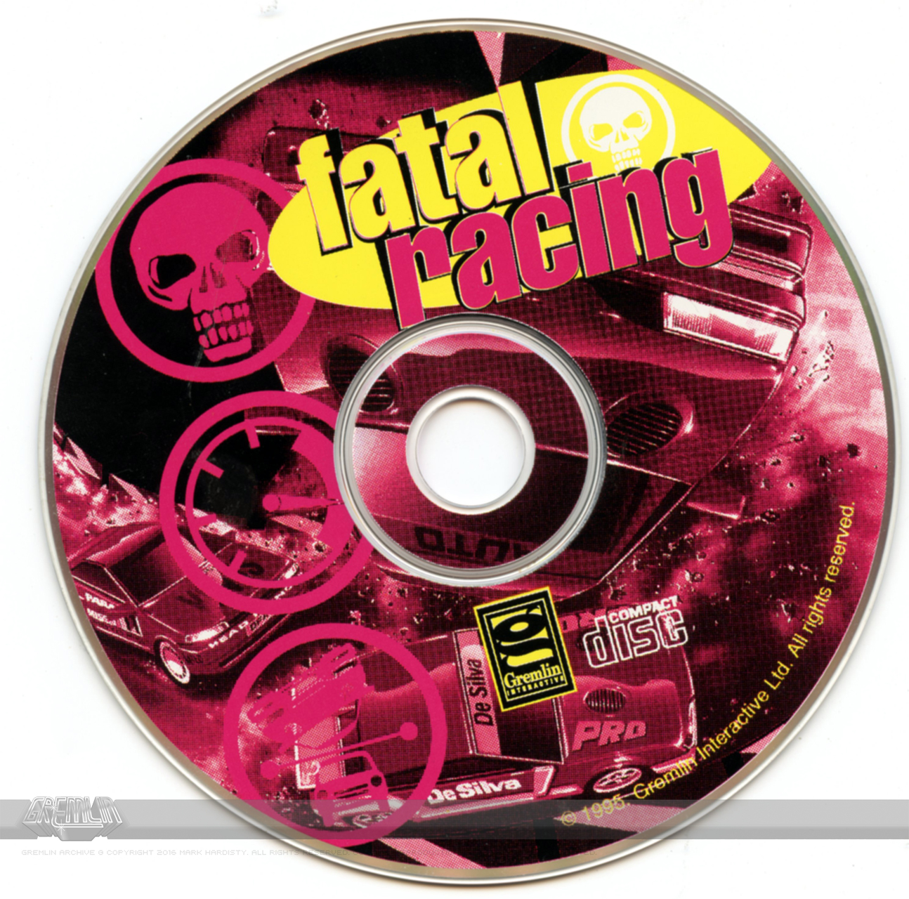 Fatal Racing (Media and Instructions)