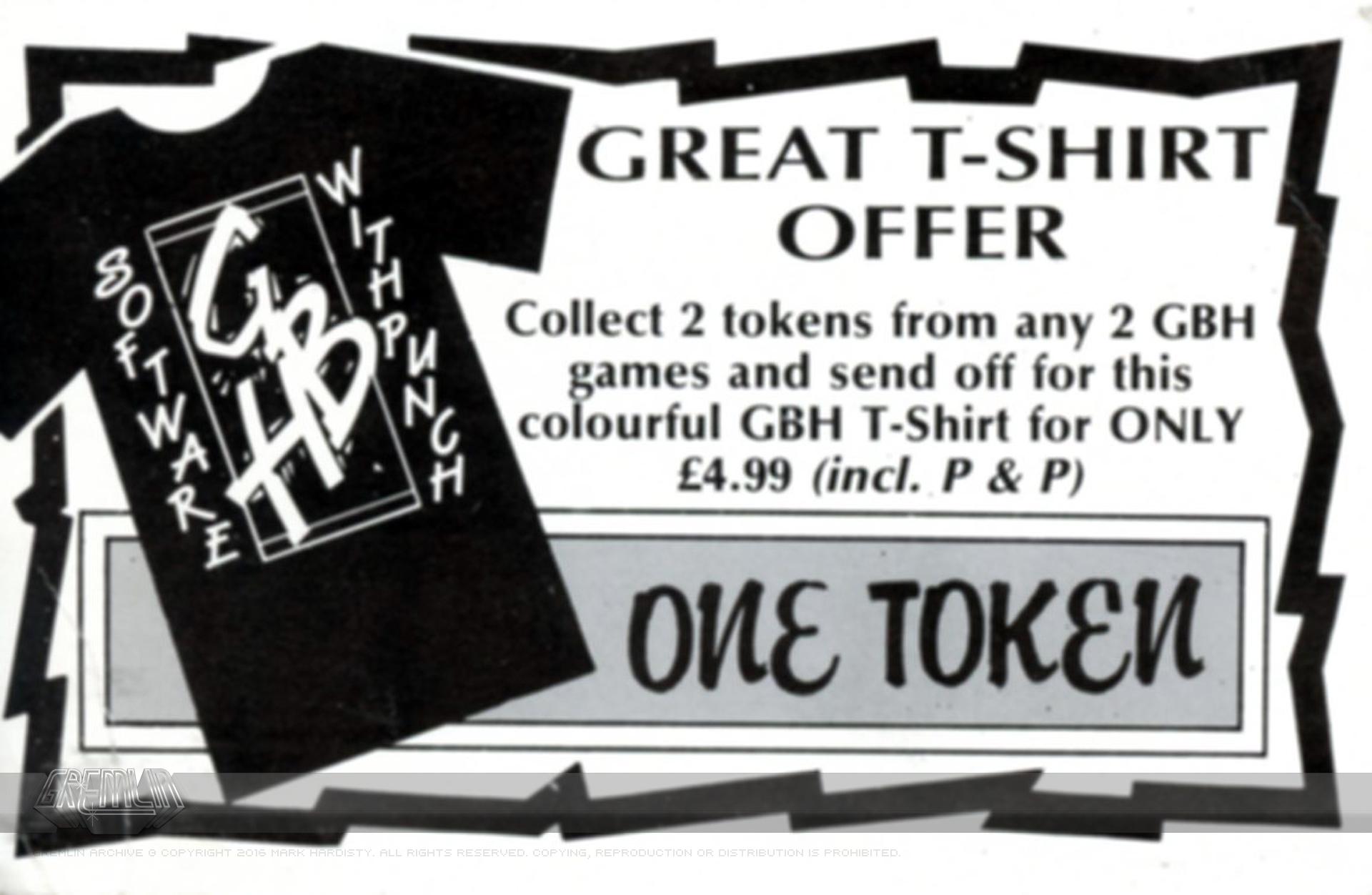 GBH T-Shirt Offer