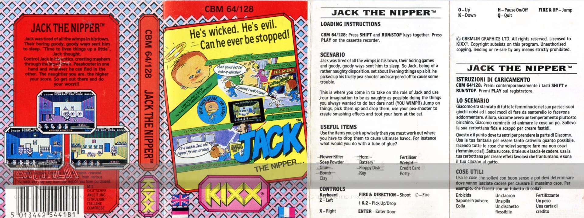 Jack The Nipper (Kixx Label)