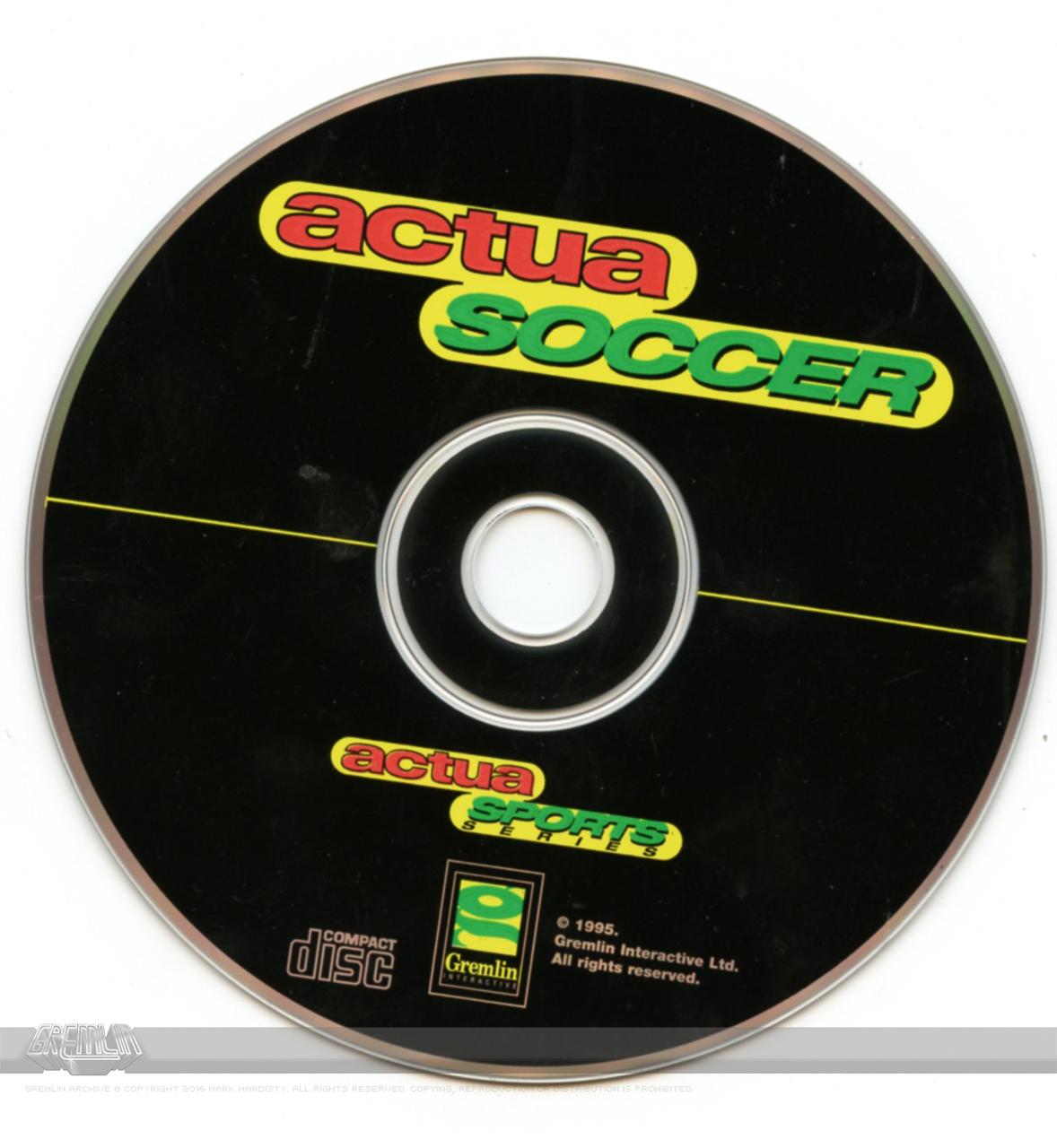 Actua Soccer (CD-ROM)
