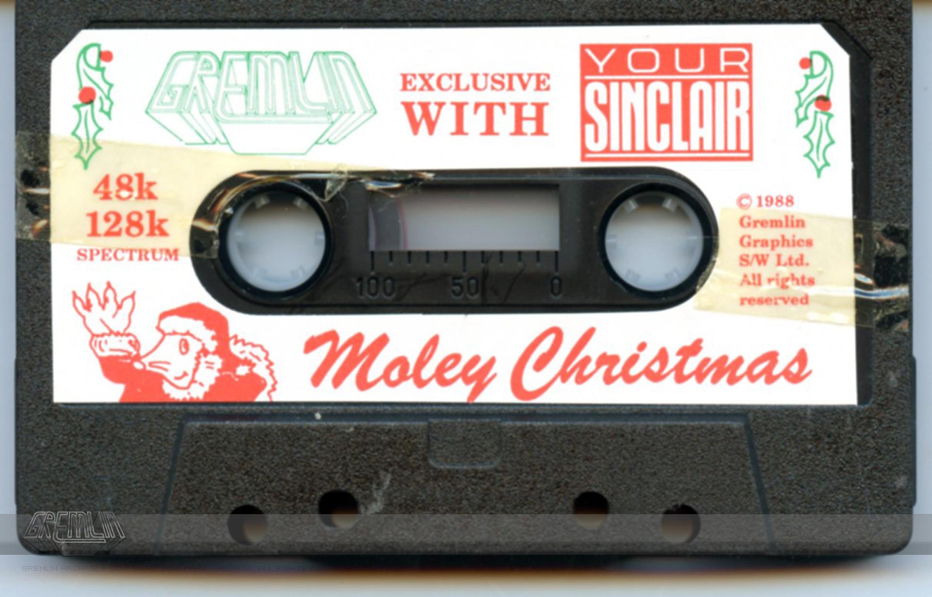 Moley Christmas Cassette