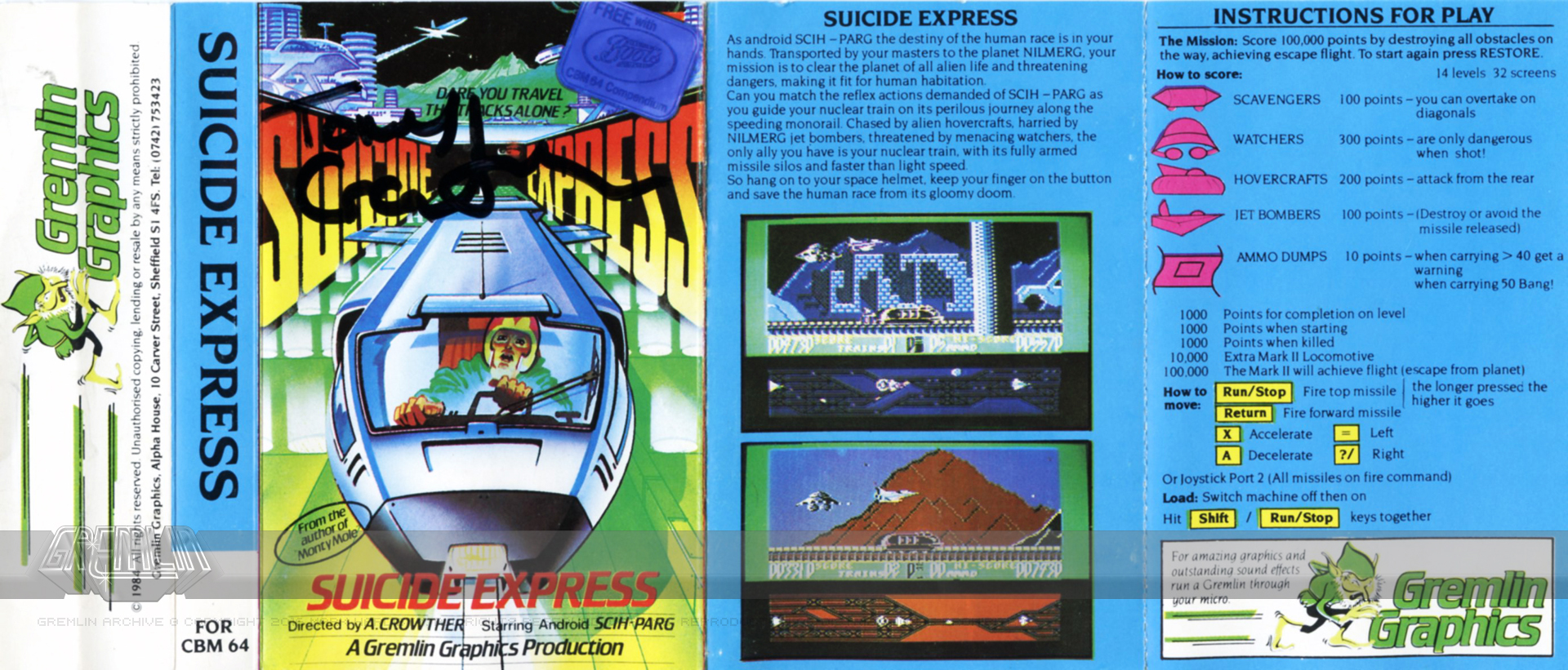 Suicide Express (Signed)