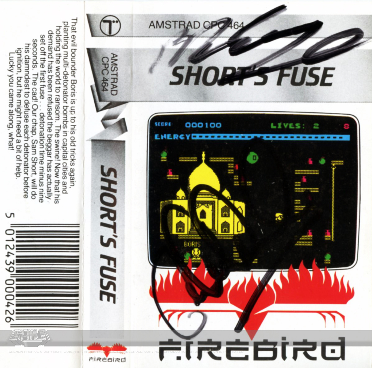 Short's Fuse (Signed) – Two Variants