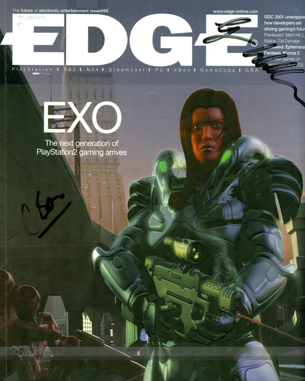 Edge EXO Coverstar