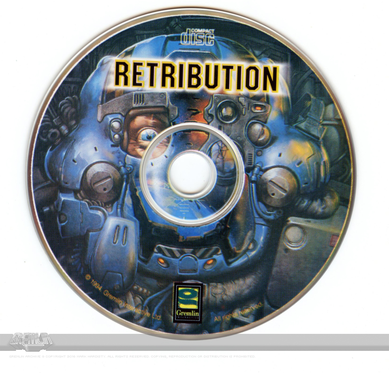 Retribution CD