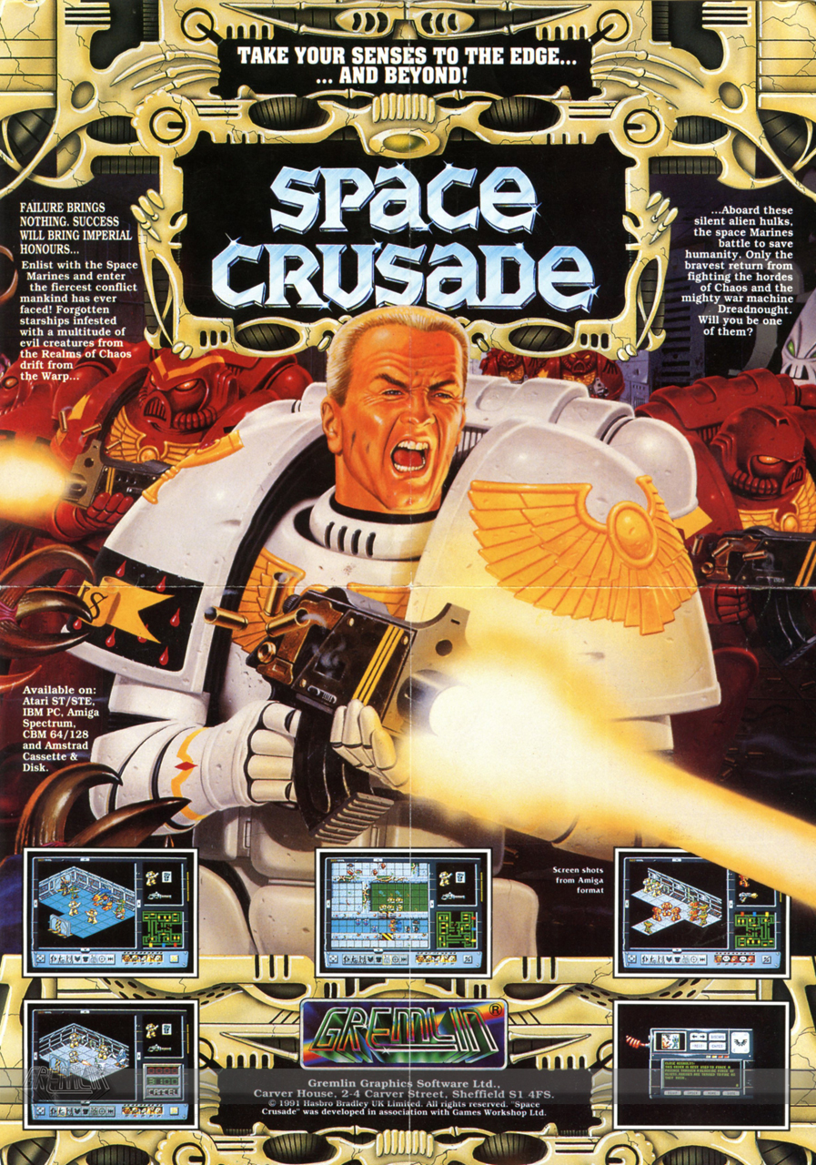 Space Crusade Advert