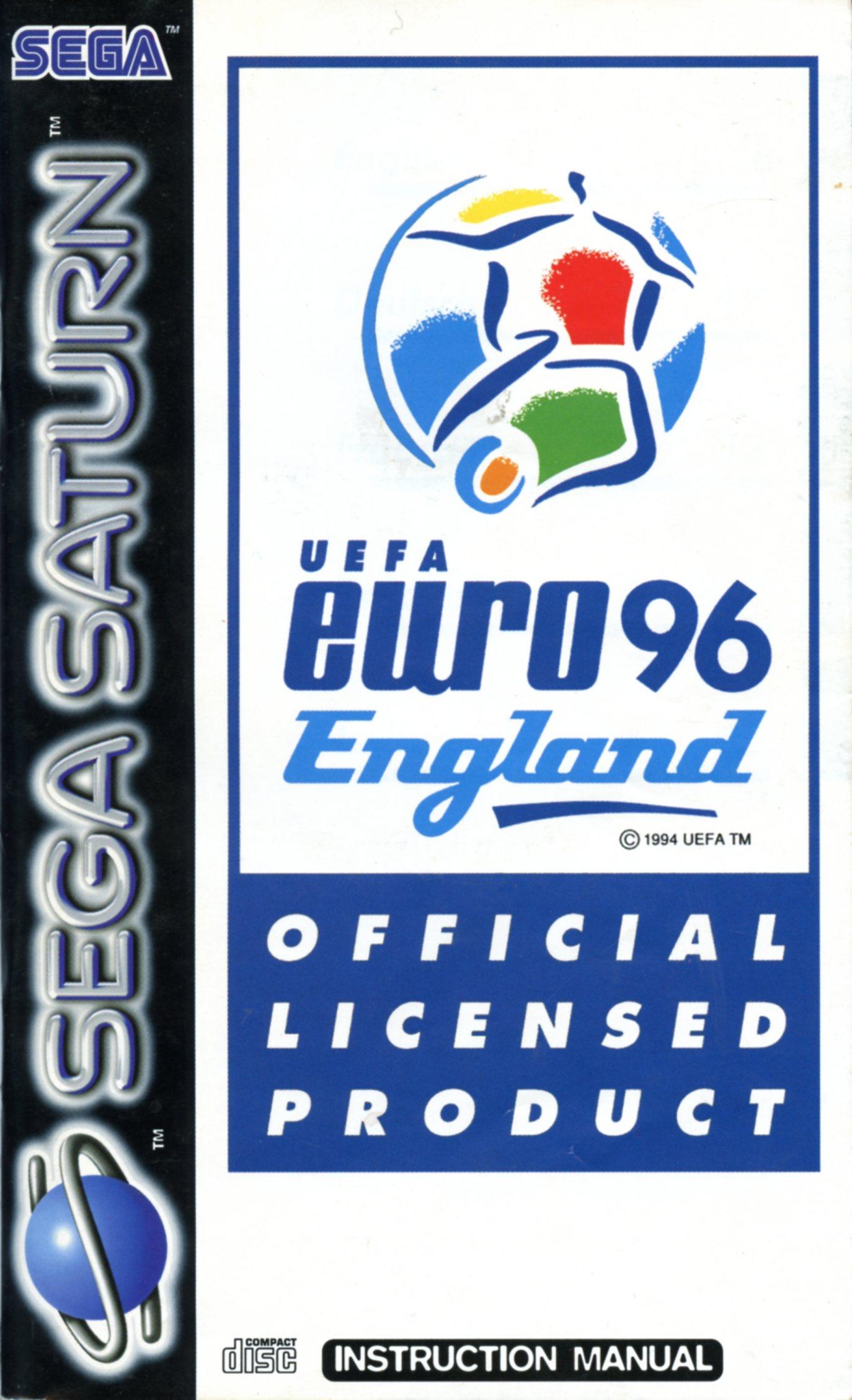 Actua Soccer Euro 96 Player Statistics