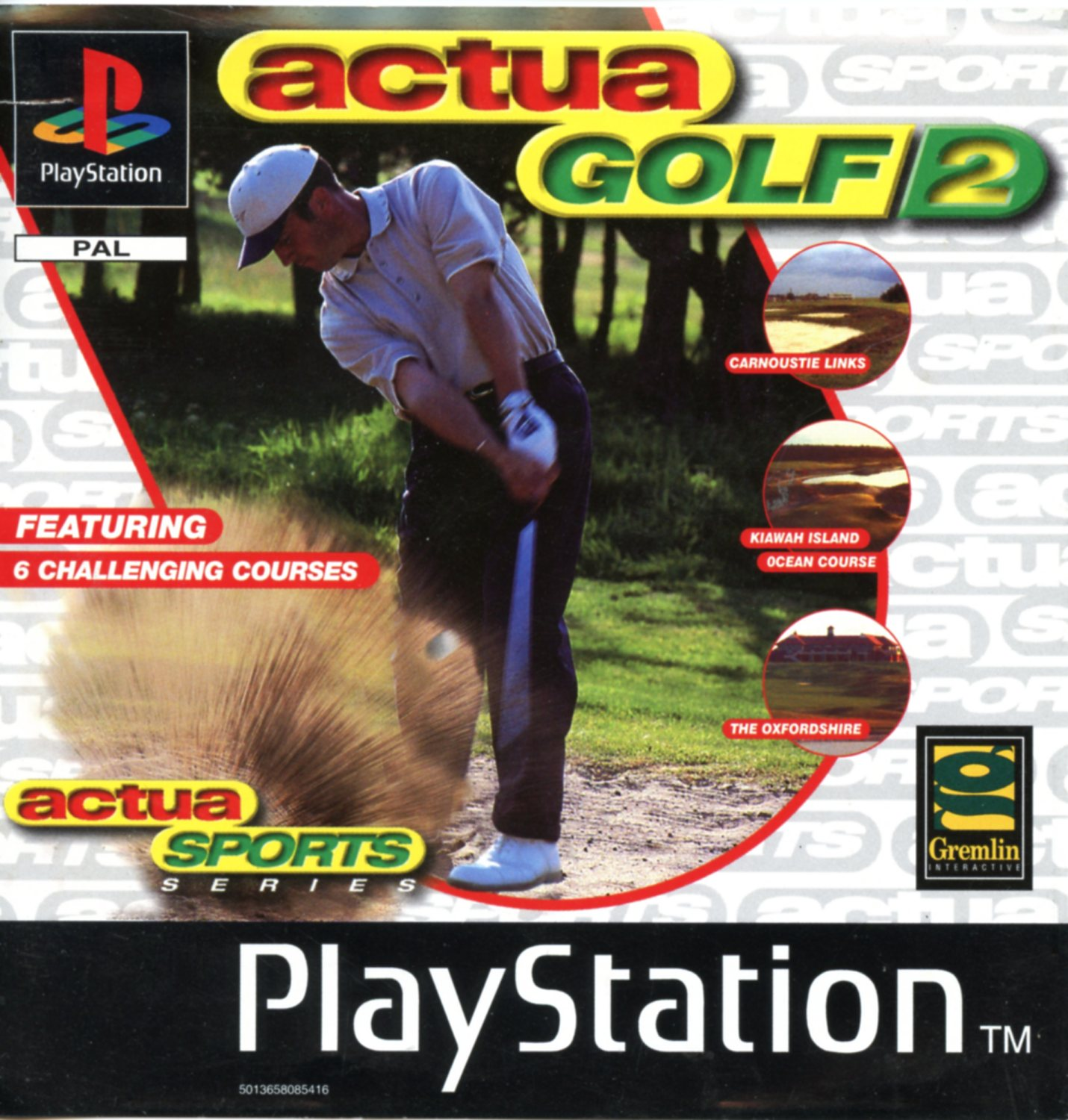 Actua Golf 2 (Playstation)