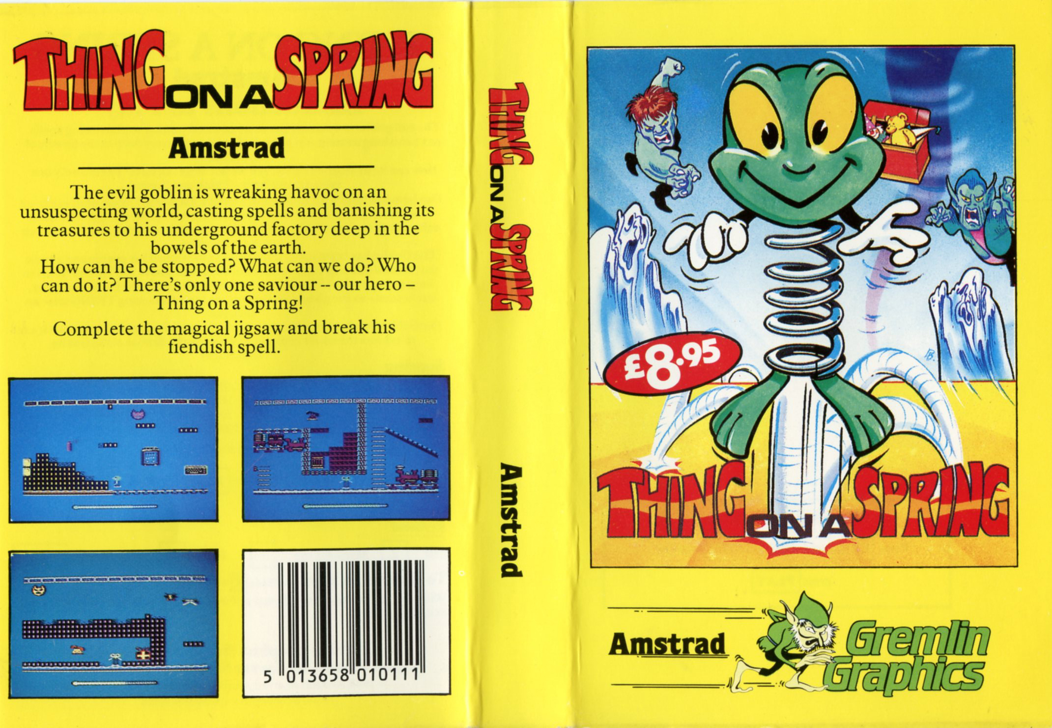 Thing on a Spring (Amstrad)