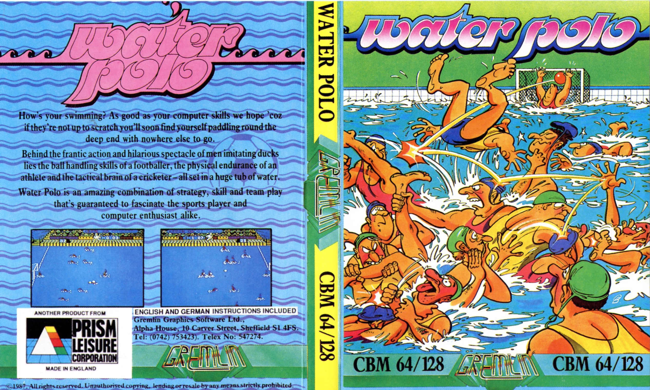 Water Polo (C64)
