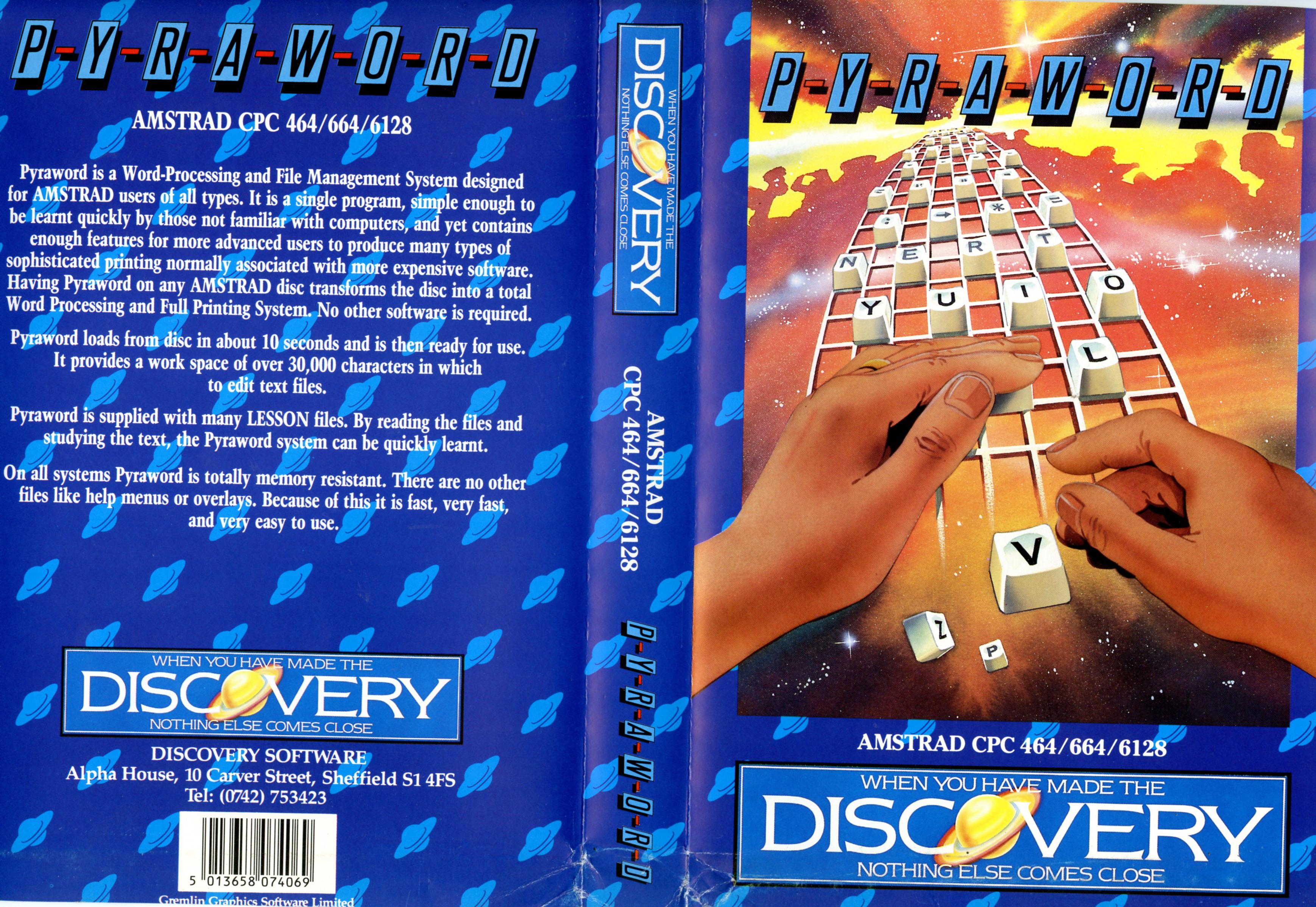 Pyraword (Amstrad)