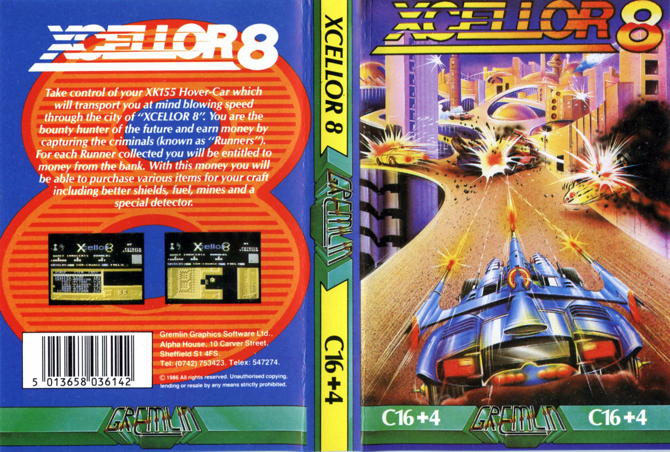 XCellor-8 (C16/Plus4)