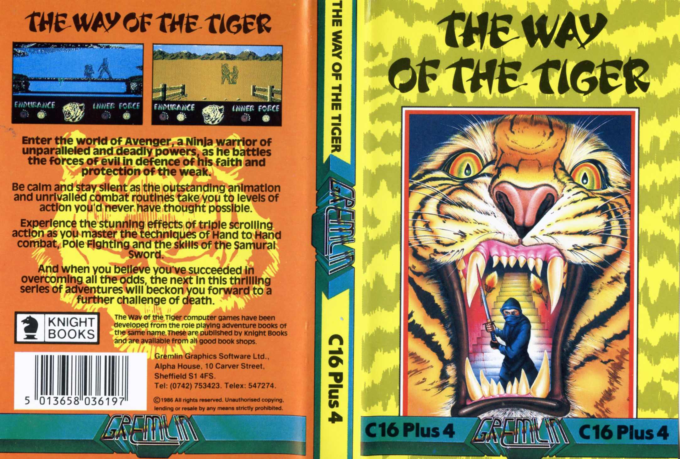 The Way of the Tiger (C16/Plus4)