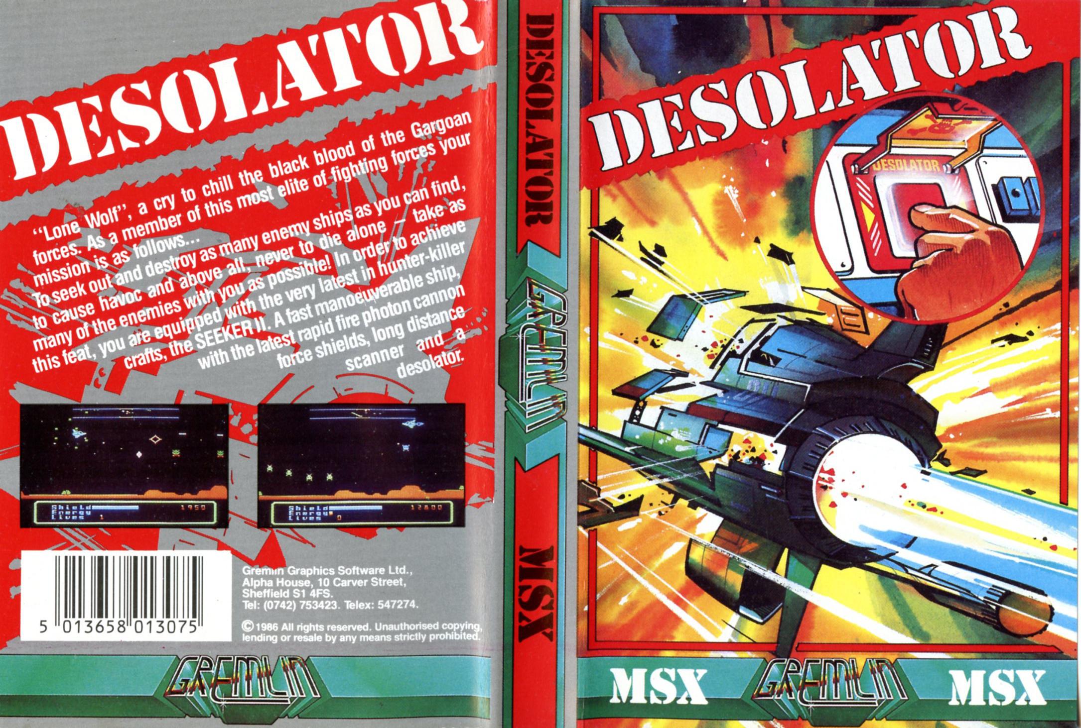 Desolator (MSX)