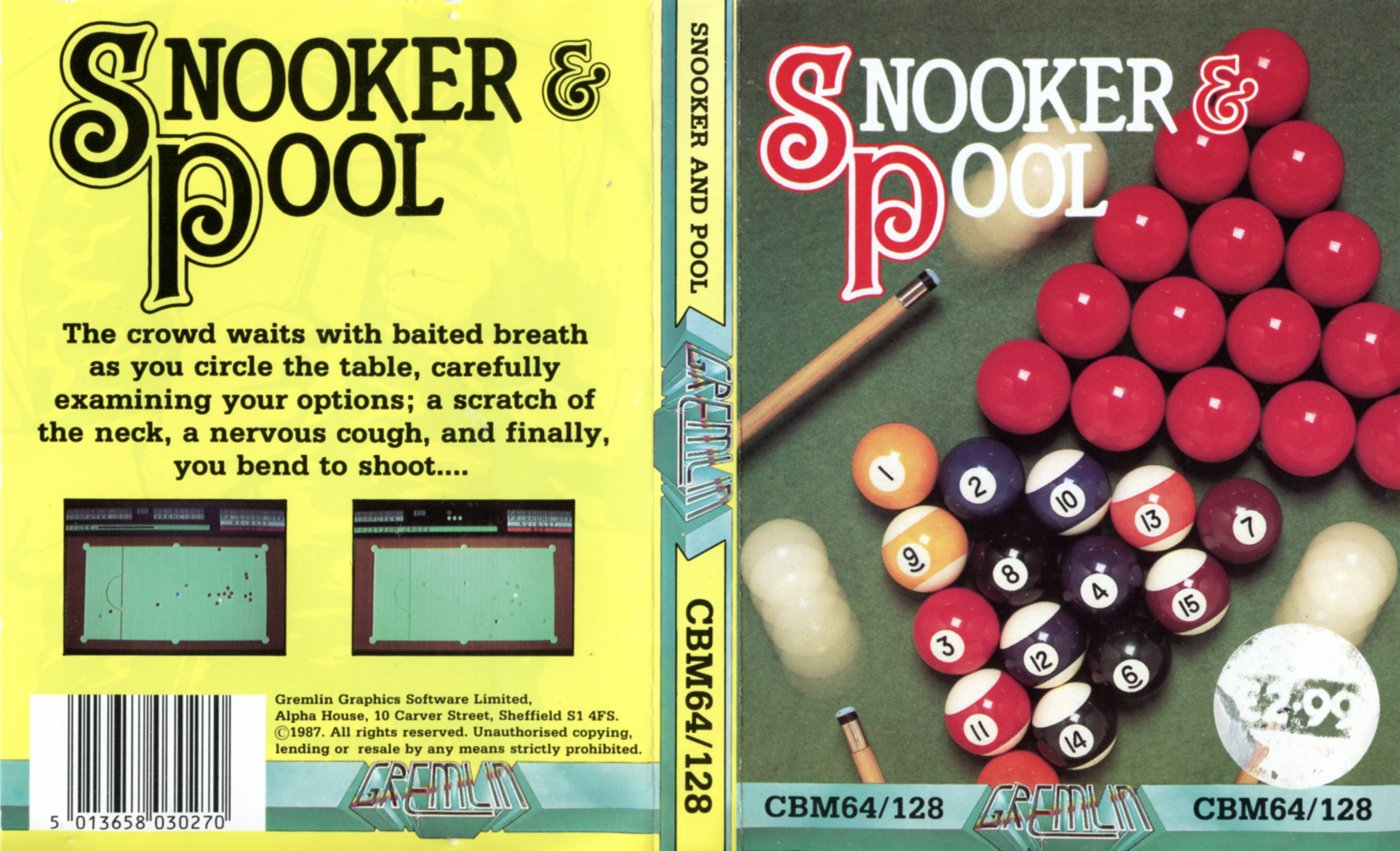 Snooker & Pool (C64)