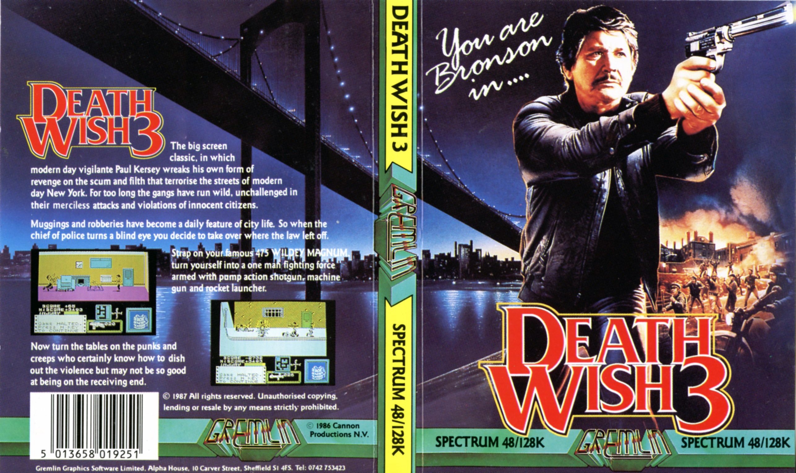 Death Wish III (ZX Spectrum)