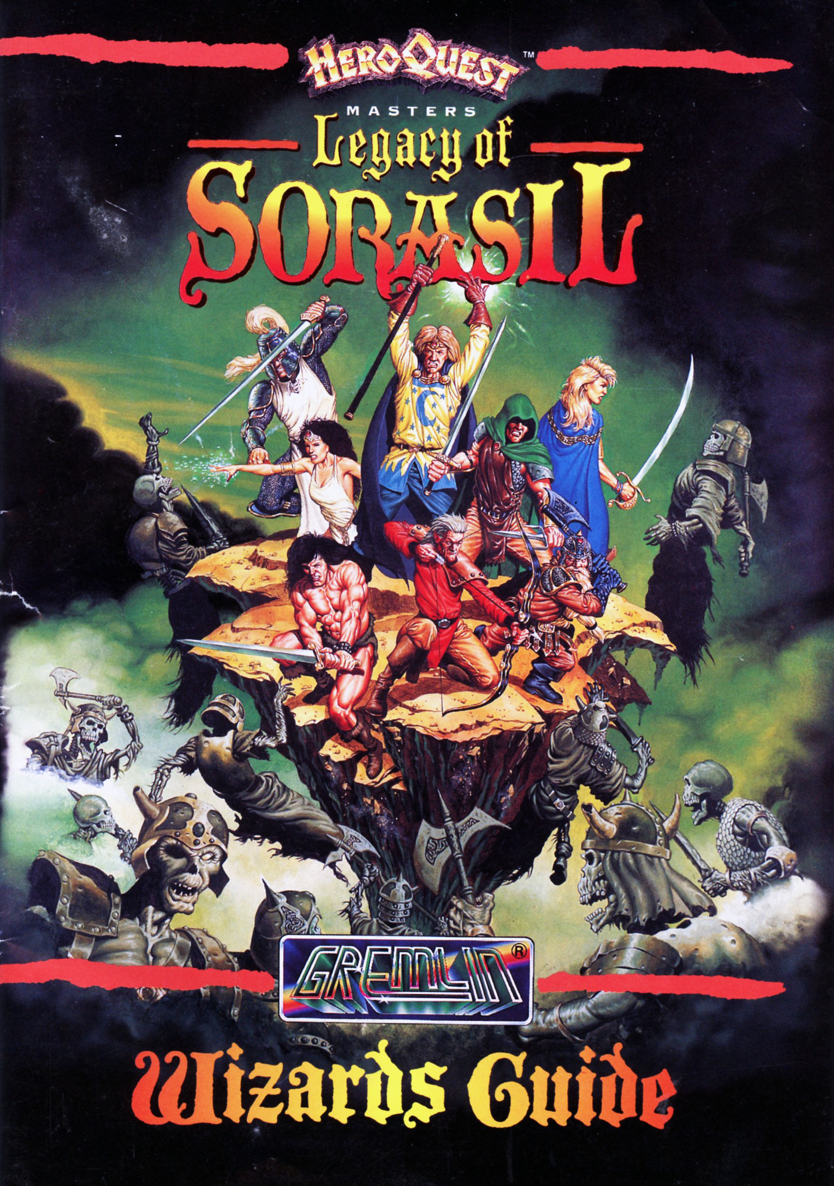 Hero Quest 2: Legacy of Sorasil (Amiga)