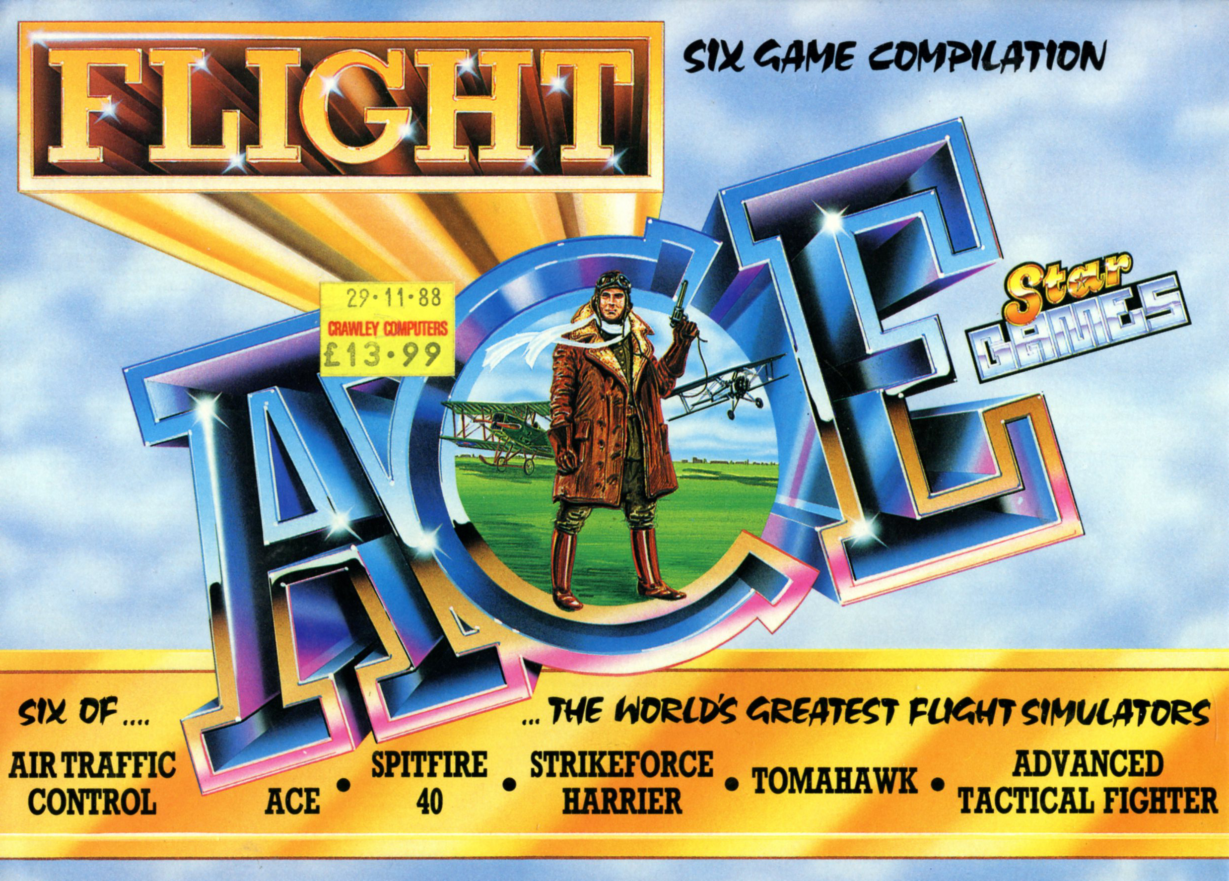 Flight Ace (Amstrad)